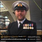 Lt Cdr Chris Wood RN